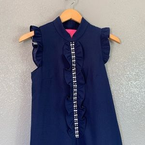 Lilly Pulitzer Dresses - NEW Lilly Pulitzer Adalee Navy pearl shift dress